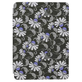 air d'iPad de fleurs et couverture intelligente de Protection iPad Air