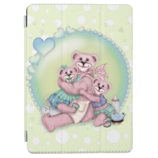 Air d'iPad d'OURS de FAMILLE et couverture Protection iPad Air