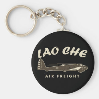Air freight2 de LAO-CHE Porte-clé Rond