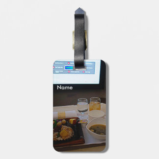 Airline-Meal Luggage Tag / Asiana Airline Étiquette À Bagage