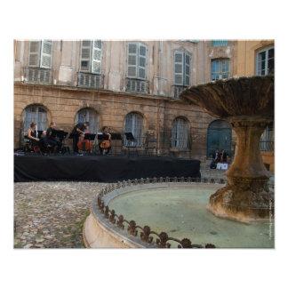 Aix-en-Provence, carré d'Albertas, copie Photographies