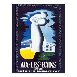 Aix-les-Bains vintage Carte Postale