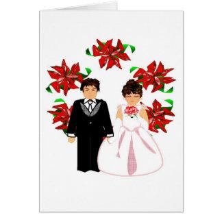 Ajouter I de mariage de Noël à la guirlande
