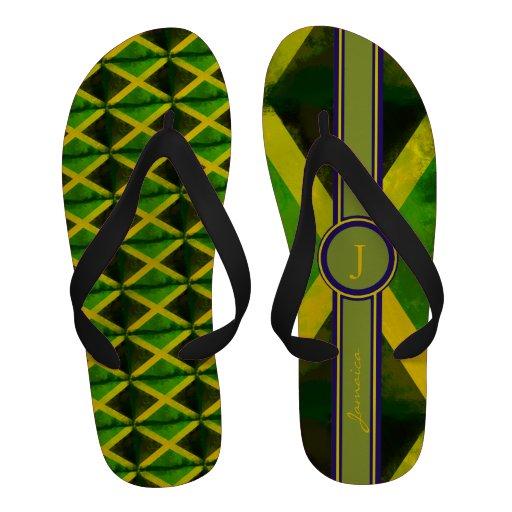 ajoutez le nom au drapeau de la Jamaïque Chaussures D'été
