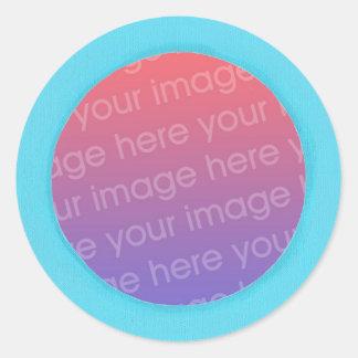 Ajoutez les autocollants de photo de bébé, dans un