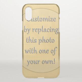 Ajoutez une photo à la personnaliser coque iPhone x