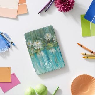 Ajoutez votre étang de nénuphar du monogramme | protection iPad mini