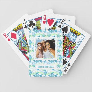 Ajoutez votre motif | marin nommé de croquis cartes à jouer