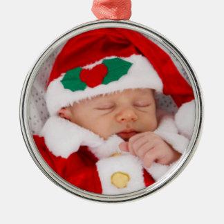 Ajoutez votre ornement de Noël de photo