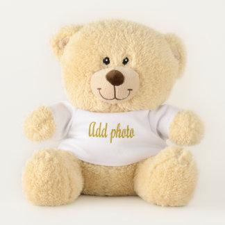 Ajoutez votre photo à l'ours de nounours