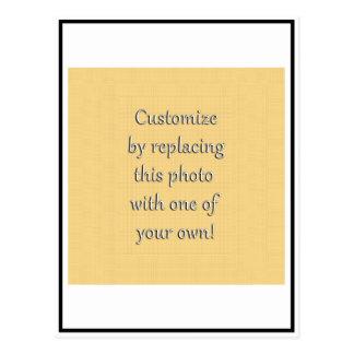 Ajoutez votre photo ou image carrée carte postale