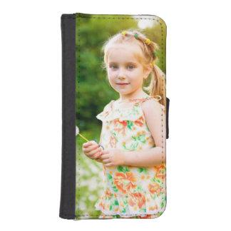 Ajoutez votre propre photo coques avec portefeuille pour iPhone 5