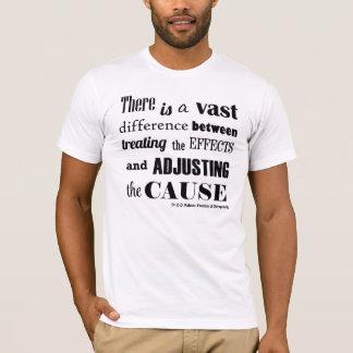 Ajustement du T-shirt fait sur commande de