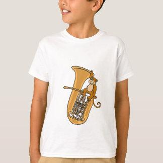 AK- chemise de singe et de tuba T-shirt