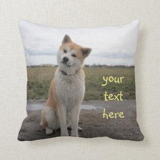 Akita Inu cute pillow Oreiller