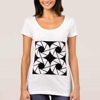 Aktina + /Prochain T-shirt de niveau de cou scoop