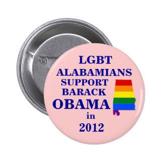 Alabamians de LGBT pour Obama 2012 Pin's