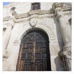 Alamo à San Antonio, le Texas Carreau