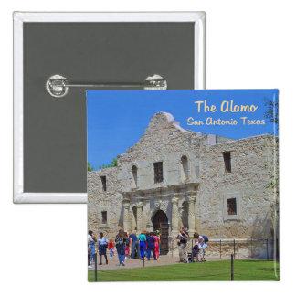 Alamo San Antonio le Texas Badge Carré 5 Cm