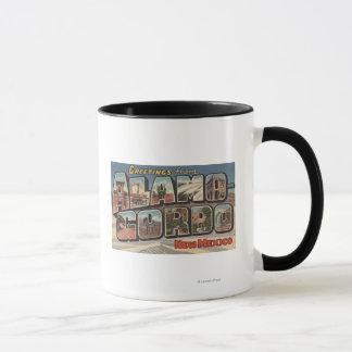 Alamongordo, Nouveau Mexique - grandes scènes de Mug