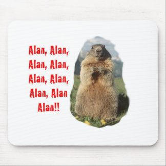 Alan Alan Alan Tapis De Souris