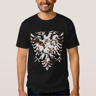 Albanais Eagle de désert T-shirts