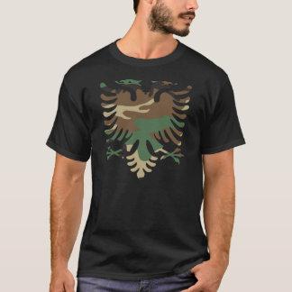 Albanais Eagle de région boisée T-shirt