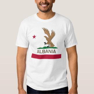 Albanais Eagle la Californie T-shirt