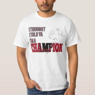 Albanais et un champion t-shirt