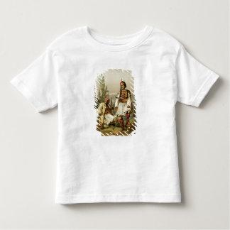 Albanais, mercenaires dans l'armée de tabouret, t-shirt pour les tous petits