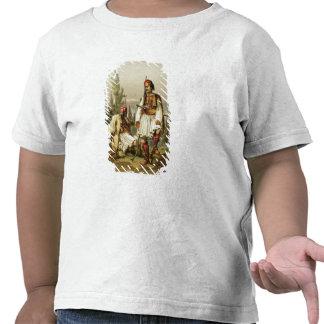 Albanais, mercenaires dans l'armée de tabouret, t-shirt