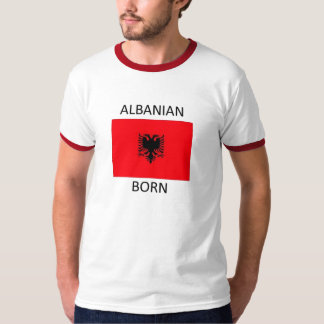 Albanais né t-shirt