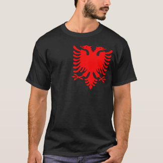Albanais rouge Eagle T-shirt