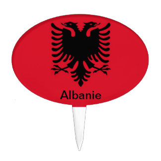Albanie Étiquette À Gâteau