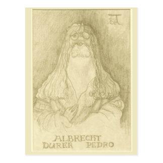 """""""Albrecht carte postale de Durer Pedro"""""""