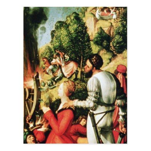 Albrecht Durer - martyre de St Catherine Cartes Postales