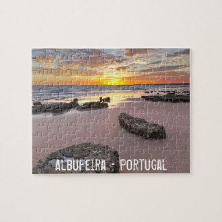 Albufeira - le Portugal. Vacances d'été dans Puzzle