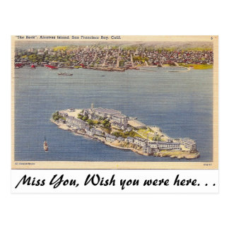 Alcatraz, San Francisco, Californie Cartes Postales