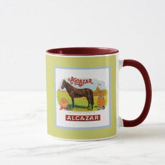 Alcazar le cheval de course tasses