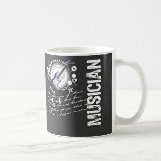 Alchimie de musicien mug blanc