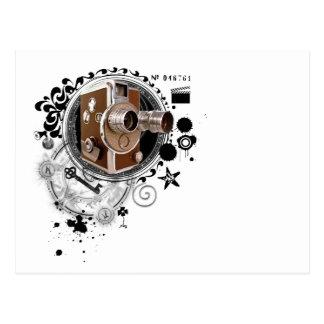 Alchimie d'image de cinéma carte postale