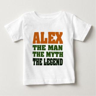 Alex - l'homme, le mythe, la légende ! t-shirt pour bébé