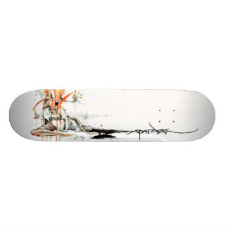 "Alex Pardee ""amour de geek "" Mini Skateboard 18,4 Cm"