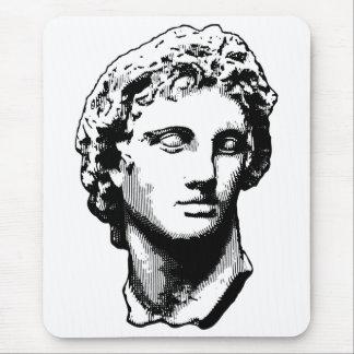 Alexandre la grande statue tapis de souris