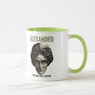 Alexandre - l'homme qui connaît la tasse