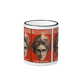 Alexandre l'homme qui sait la magie tasse à café