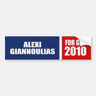 ALEXI GIANNOULIAS POUR LE SÉNAT AUTOCOLLANT POUR VOITURE