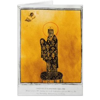 Alexius I Comnenus, empereur bizantin 2 Carte De Vœux