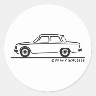 Alfa Romeo Giulia Sticker Rond