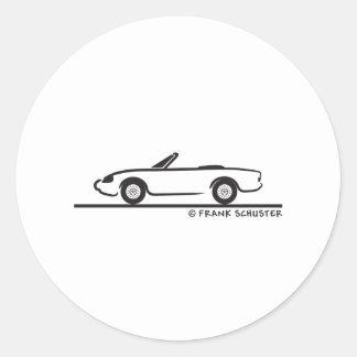 Alfa Romeo Spider Duetto Autocollants